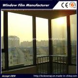 Film r3fléchissant de construction, film solaire, film solaire de guichet de construction de contrôle de miroir à sens unique