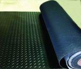 3mmの頑丈な織り目加工の加硫させた着色されたゴム製シート