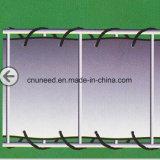100%UV resistenza, rete fissa antivento del coperchio del PVC Balkon Sichtschutz di Holzdekor 0.75m*6m