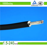 TUV Aprobado 6mm2 DC PV Cable Solar Cable Panel