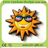 Magneti del frigorifero di espressione di sorriso personalizzati estate