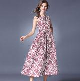 فصل صيف جديدة أسلوب [سليفلسّ] صدرة كبير حاسة طباعة نساء طويلة ثوب