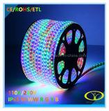 ETLの証明のクリスマスの照明SMD5050 60LED/Mロープライト