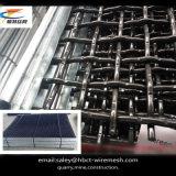 Rete metallica tessuta/unita per estrazione mineraria