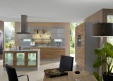 Gabinete de cocina / armario de estilo simple Mlelamine