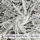 Merletto bianco del tessuto della tessile per i vestiti (M1401)