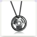 De Tegenhanger van de Halsband van het Roestvrij staal van de Toebehoren van de Manier van de Juwelen van de manier (NK670)