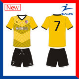 Club Jersey du football de sublimation de vente en gros de vêtement de Healong