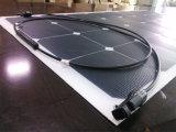 El panel solar flexible del barco de la nave de alta tecnología del coche
