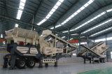 Estación de trituradora de impacto móvil de Residuos de Construcción
