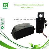 Pak van de Batterij van de Kikker van het lithium het Ionen24V 12ah voor Vouwbare Fiets