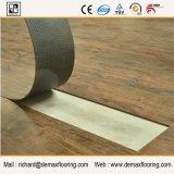 Plancher texturisé en bois de PVC de vinyle