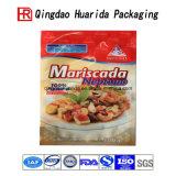 Sacchetto su ordinazione del pacchetto dell'alimento del sacchetto di plastica dell'imballaggio sigillato parte posteriore
