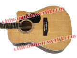 Guitare acoustique impeccable solide du dessus EQ de musique d'Afanti (AEQ-068)