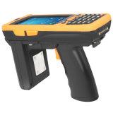 De handbediende Scanner RFID van de Lange Waaier van de Inzameling van de Gegevens van de Streepjescode UHF