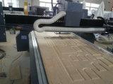 Máquina de talla de madera CNC de doble husillo