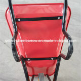 Wheelbarrow modelo popular Wb3800 de 65L 5 Cbf África do Sul