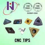 CNC Indexable het Draaien van het Carbide Tussenvoegsels met Tialn met een laag die worden bedekt die
