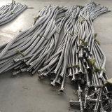 Os acoplamentos fêmeas masculinos do Camlock das flanges dos encaixes montaram a mangueira do metal flexível de aço inoxidável