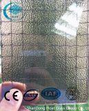 Ce/ISO (3-8mm)를 가진 청동색 Nashiji에 의하여 타전되는 장식무늬가 든 유리 제품