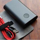 Gli ABS neri Powerbank 6000mAh/10000mAh digiunano la Banca di potere del polimero QC2.0 del USB impostata per Anker
