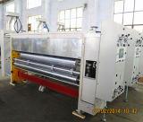 Impression à base d'eau de carton rainant la machine de découpage