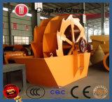중국에서 최고 판매 물통 바퀴 모래 세탁기