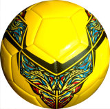 Material costurado máquina da cor TPU do futebol do tamanho 5 multi