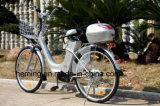 Bici eléctrica de la ciudad de 26 pulgadas con la velocidad de Shimano 6