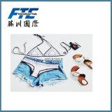 Abito di usura di nuoto della biancheria del bikini del costume da bagno dello Swimwear del Beachwear del vestito dal Crochet