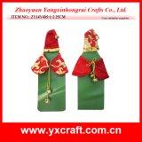 Decoración de Navidad (ZY16Y173-1-2-3 26X15CM) Decoración del vino del juego del vino de la Navidad