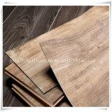木製の穀物クリックロックPVCプラスチック床タイル