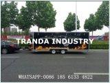Camion entièrement personnalisé d'aliments de préparation rapide à vendre/le camion nourriture de rue