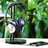 Houder van de Hoofdtelefoon van de Legering van het aluminium de Zwarte Matte met OEM de Dienst