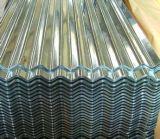 0.13mm-0.8mmの金属の鋼鉄Dx51dによって波形を付けられる電流を通された鋼鉄屋根ふきシート