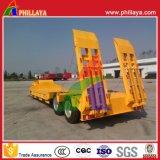 Gooseneck 30-60ton 2axle 3axle Semi Aanhangwagen van de Vrachtwagen van het Bed van Lowboy de Lage