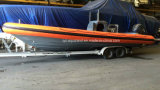 Aqualand 30feet 9m Military Rigid Inflatable Boat/Rib Patrol Boat (RIB900)