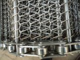 平らな金網ベルト/ステンレス鋼のコンベヤーベルト/食糧コンベヤーベルト