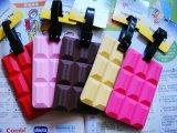 Бирка багажа силикона высокого качества конструкции тетради цветастая (BZLT001)