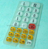 Teclado Epoxy de borracha Elastomeric do silicone
