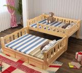 固体木のベッド部屋の二段ベッドの子供の二段ベッド(M-X2215)