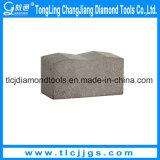 El diamante vio los segmentos de la lámina para la piedra