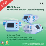 Liposuction da perda de peso do laser Cryolipolysis do diodo de CS02 650nm