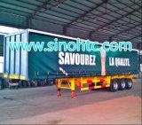 2015 de Semi Aanhangwagen Van uitstekende kwaliteit van de TriZijgevel van de As