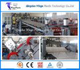 Pp.-Bucheinband oder Faltblatt-Blatt, das Maschine, Plastikplatten-Blatt-Extruder herstellt