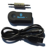 O adaptador audio de Bluetooth entrega o jogo livre para o carro