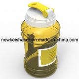 Портативная бутылка воды спорта 2.2L PETG пластичная с контейнером
