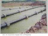 PE van de Watervoorziening PE100 van Dn160 Pn1.0 Pijp de Van uitstekende kwaliteit