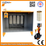 Stanza dello spruzzo della cabina di spruzzo del rivestimento della polvere dei filtri