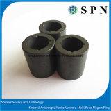 Anello di ceramica sinterizzato permanente del magnete del ferrito duro